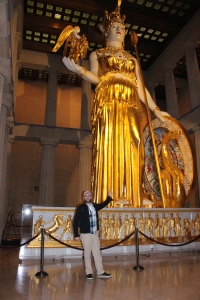 Statue from Percy Jackson and Greek History